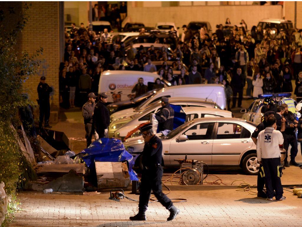 Queda de muro junto à Universidade do Minho mata três estudantes [Hugo Delgado/LUSA]