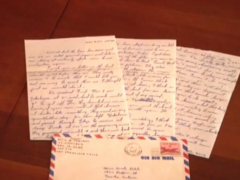 Mulher encontra carta de 1951 (Reprodução / Youtube / PlayHD)