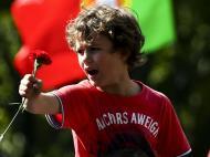 25 de Abril, 40 anos o desfile nas ruas (Lusa/José Sena Goulão)