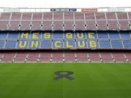 Luto em Camp Nou