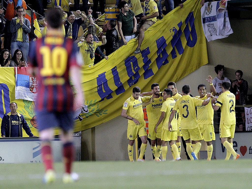 VILLARREAL VS. FC BARCELONA (Lusa)