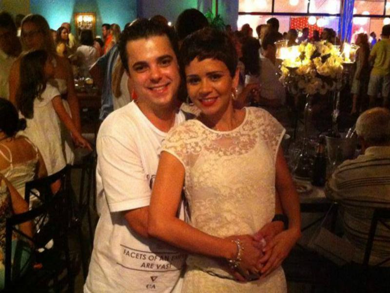 Patrícia Alves e Felipe Cabrera Padovani [Facebook]