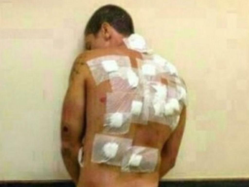 Alegado violador abusado na cadeira (Polícia)