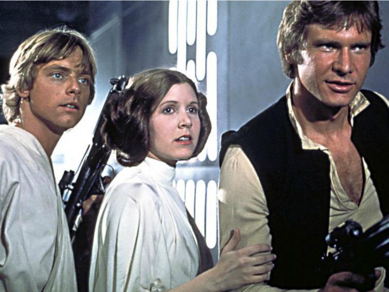 Harrison Ford, Mark Hammil e Carrie Fisher estão de volta