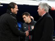 Carlo Ancelotti e Diego Simeone