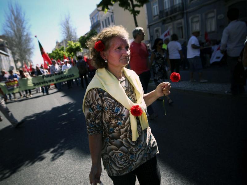 1º de Maio: CGTP em Lisboa (Lusa)