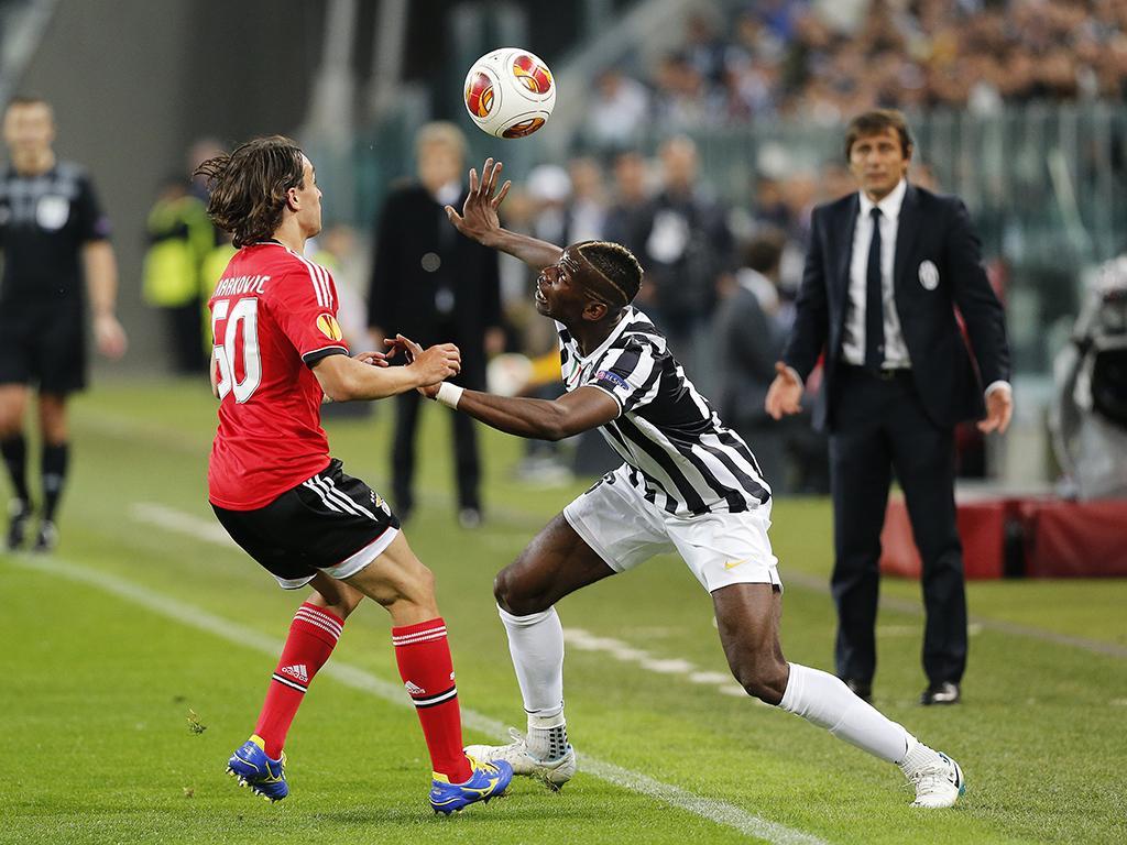 Juventus vs Benfica (Reuters)