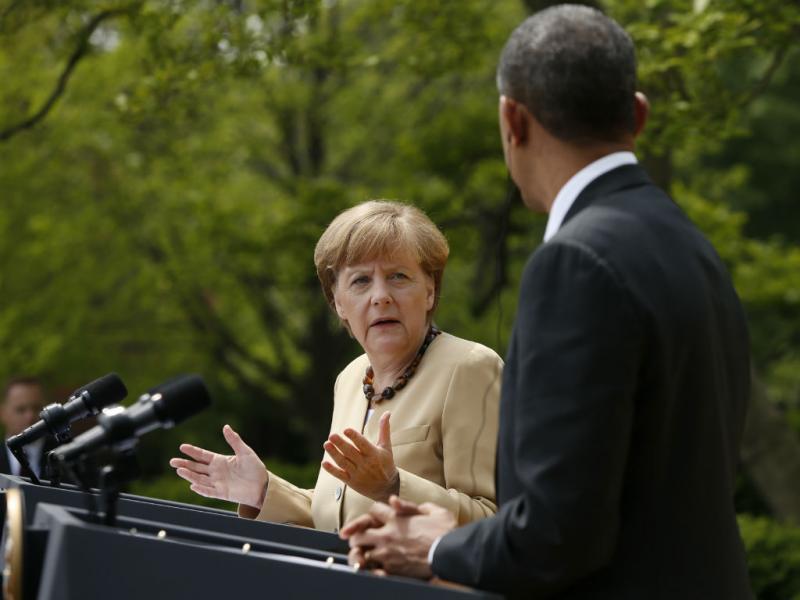Obama e Merkel sem acordo sobre espionagem (REUTERS)