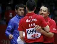 China é campeã mundial de ténis de mesa (EPA)