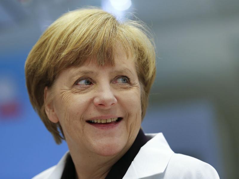 Merkel em Maio de 2014 (Lusa)