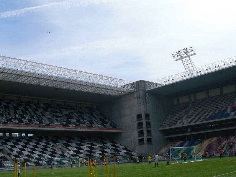 7º: Estádio do Bessa, Boavista. Média na Liga 2016/17: 5.612 espectadores.