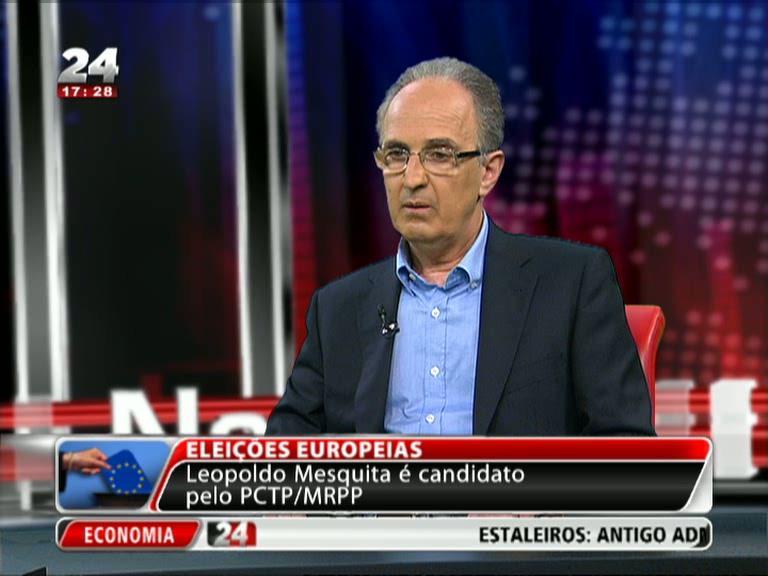 Entrevista Europeias: Leopoldo Mesquita, PCTP/MRPP