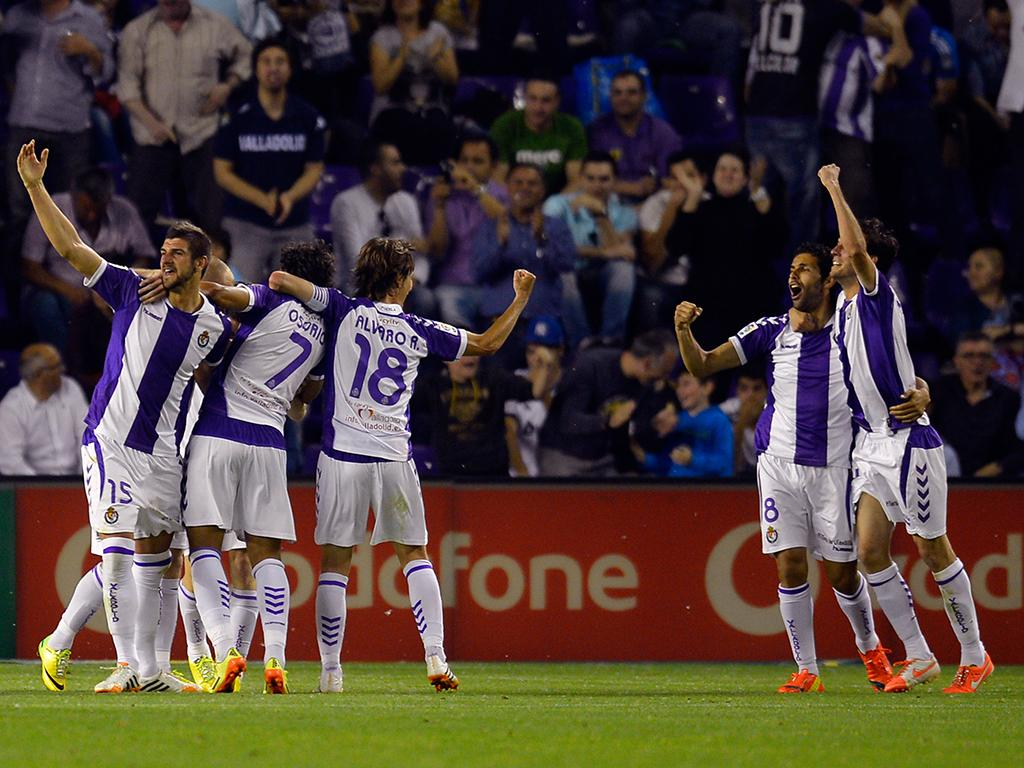 Valladolid vs Real Madrid (LUSA)