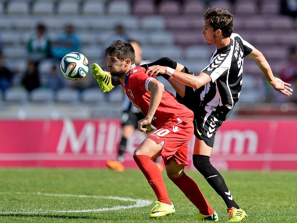 Gil Vicente VS Nacional (LUSA)