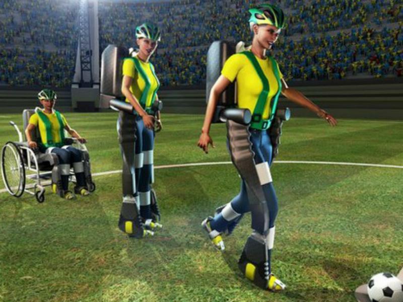 Exoesqueleto pode permitir a marcha a milhares de paraplégicos (Foto «Walk Again»)