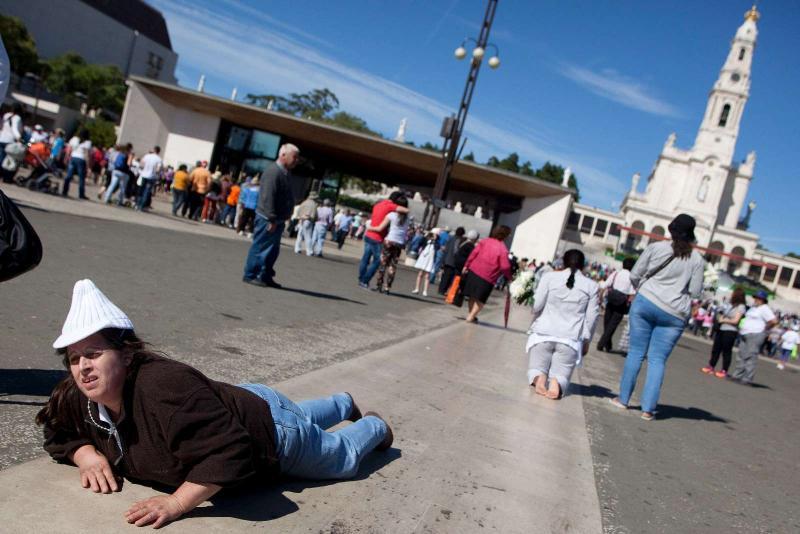 Fátima, o 13 de Maio de 2014 (LUSA)