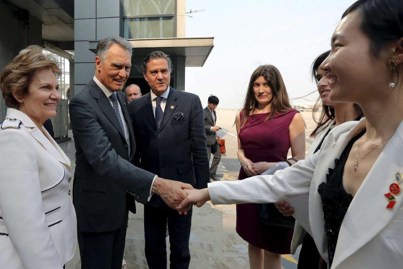 Cavaco Silva na China