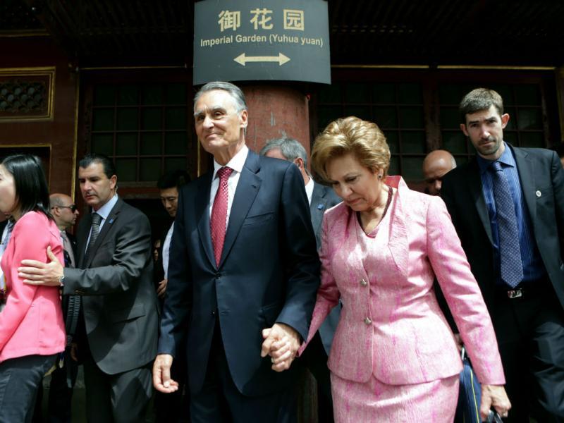 Visita de Cavaco Silva à China (LUSA)