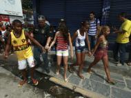 Protestos violentos contra o Mundial no Brasil (REUTERS)