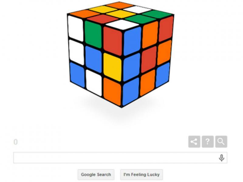 Google celebra 40 anos do Cubo Mágico (Reprodução)
