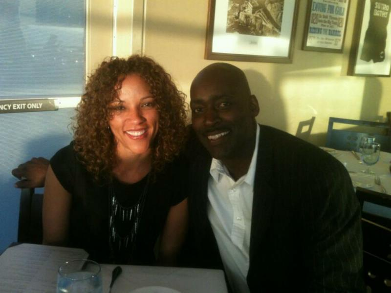 Michael Jace e April Jace (Facebook)