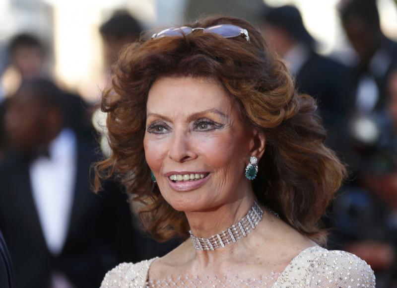 Sophia Loren - «Two Days, One Night» - 67ª edição do Festival de Cinema de Cannes Foto: Reuters
