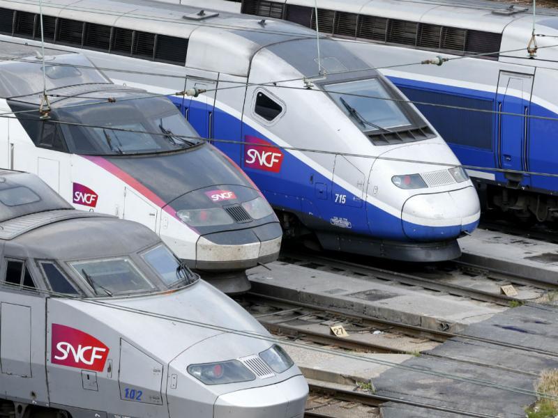 Comboios franceses (REUTERS)