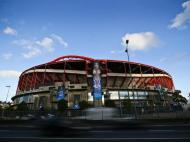 Estádio da Luz veste-se para a final da Champions