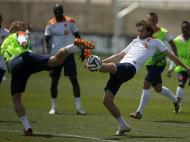 Holanda treina em Lagos
