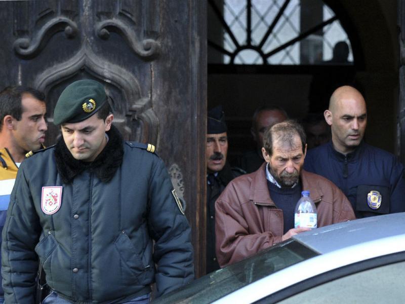 Manuel Baltazar à chegada ao tribunal (Lusa)