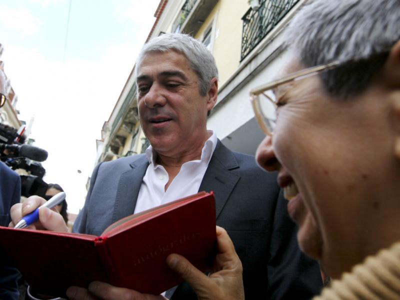 Europeias: Sócrates entra na campanha (Lusa/Nuno Veiga)