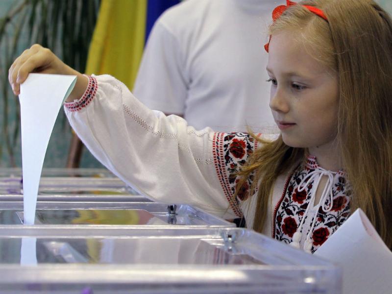 Eleições presidenciais na Ucrânia (LUSA)