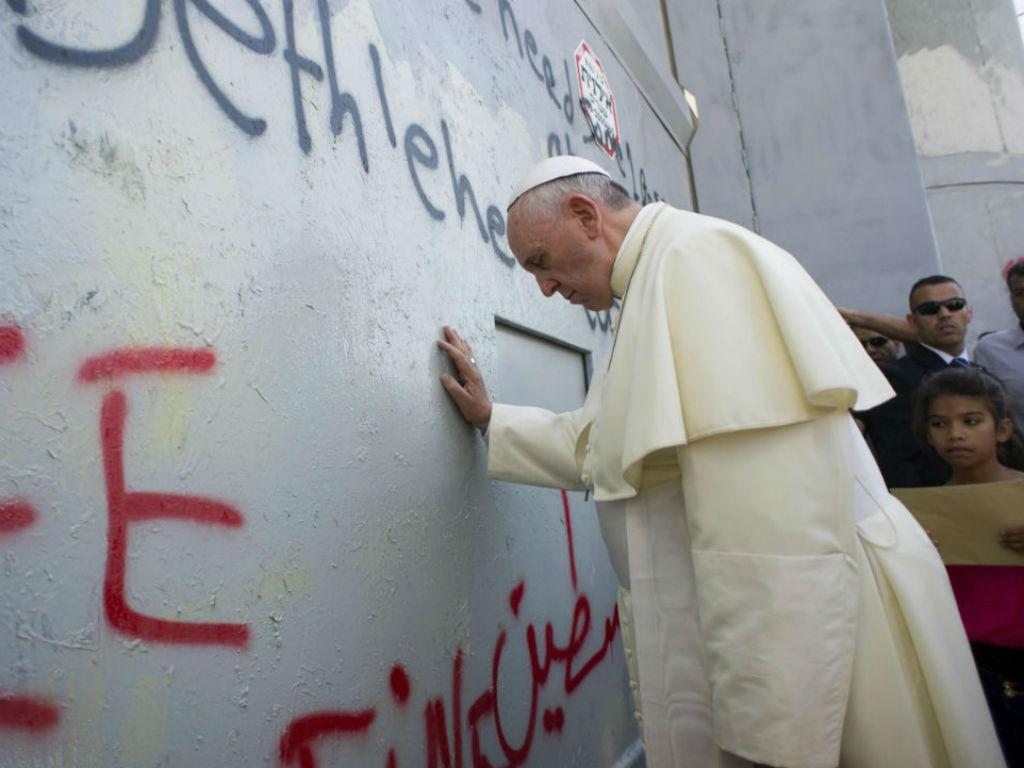 Papa na Terra Santa (LUSA)