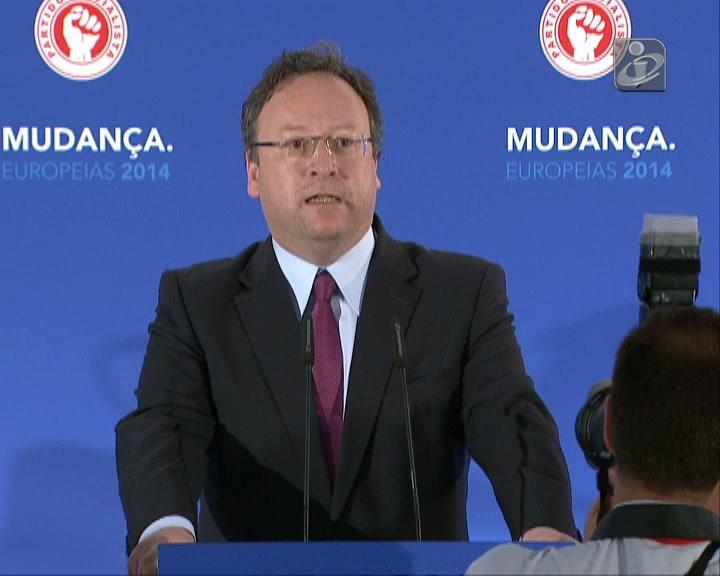 Eleições europeias: Francisco Assis convicto na vitória do PS