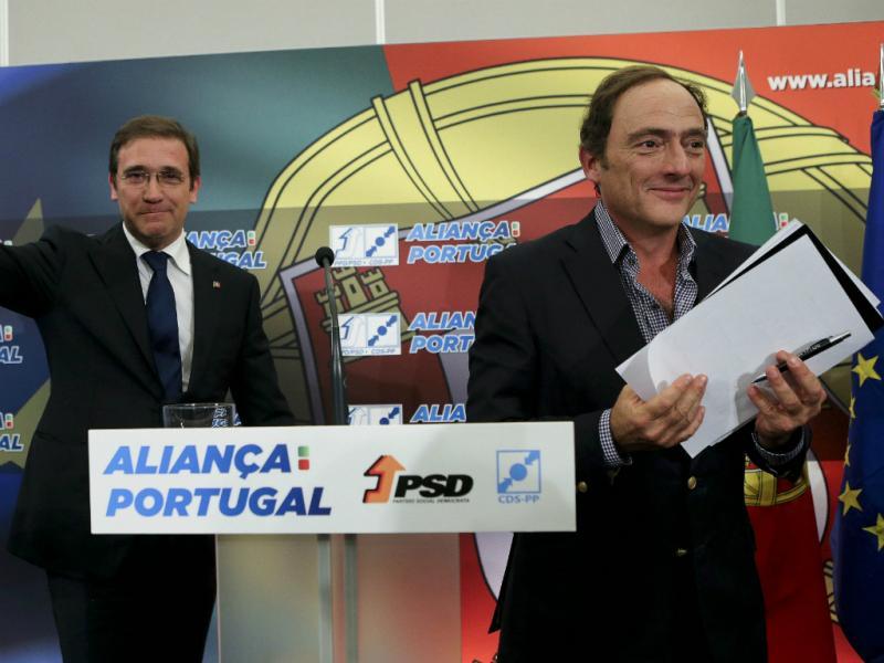 Pedro Passos Coelho e Paulo Portas [Lusa]