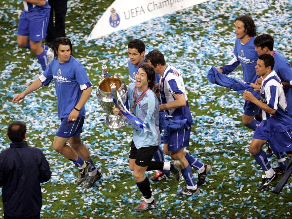 FC Porto-Mónaco: a final de Gelsenkirchen