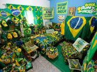 Marilza Guimaraes da Silva, a maior fã do Brasil (REUTERS)