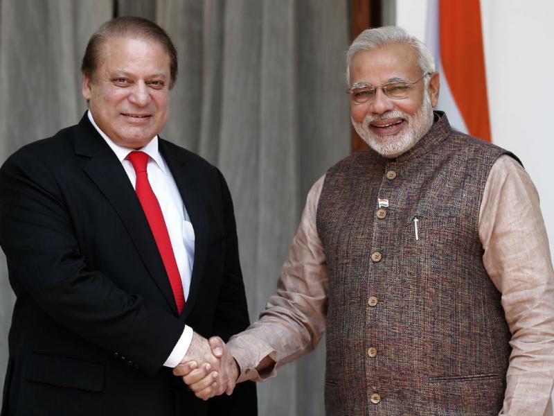 Narendra Modi e Nawaz Sharif (REUTERS/Adnan Abidi)