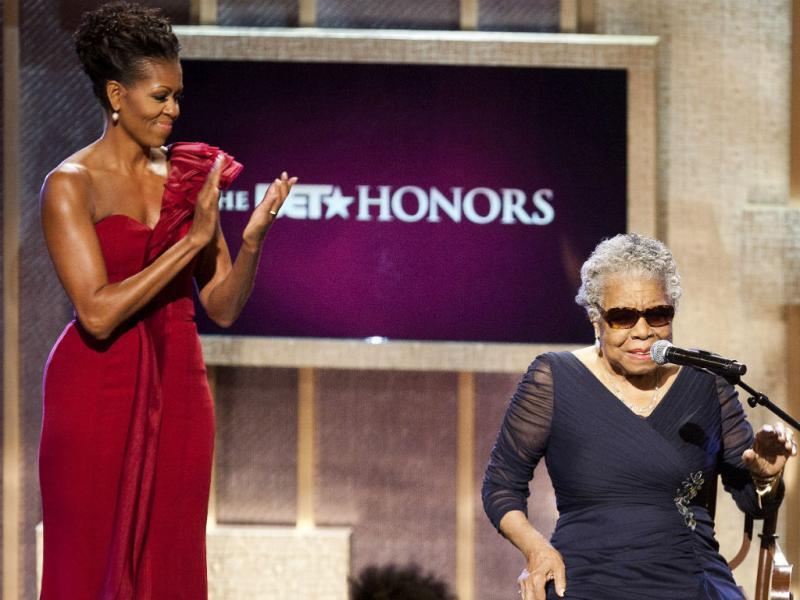 Maya Angelou (REUTERS)