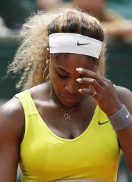 Serena Williams eliminada em Roland Garros (Reuters)