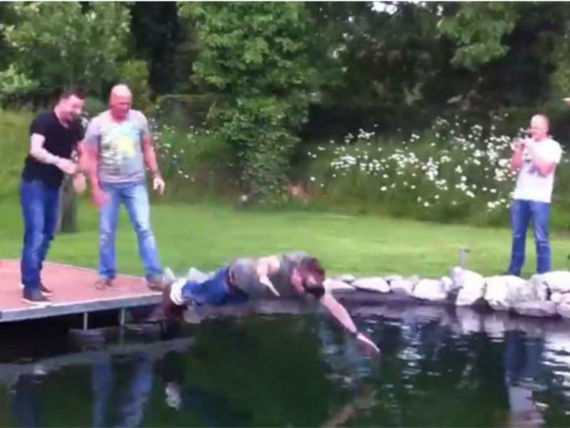 Um salto de bungee jump «diferente»