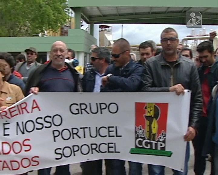 Trabalhadores da Soporcel cumprem quatro dias de greve