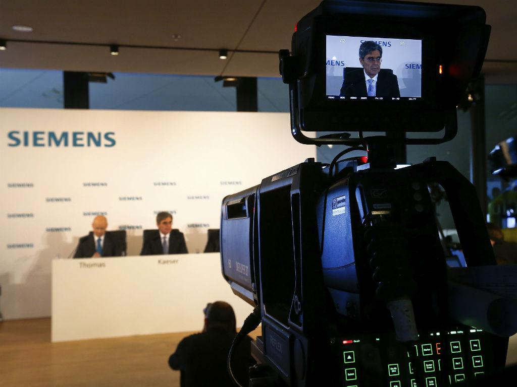 Joe Kaeser, CEO da Siemens (Reuters)