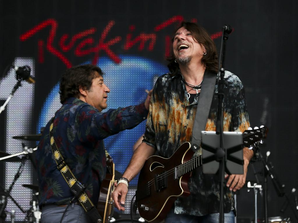 Rui Veloso e Lenine - Rock in Rio Lisboa 2014 [Lusa]