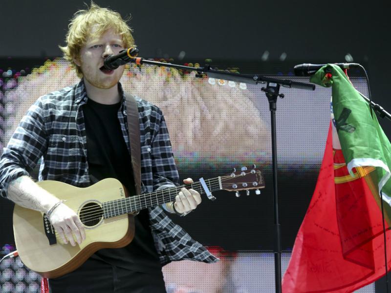 Ed Sheeran - Rock in Rio 2014 [Lusa]