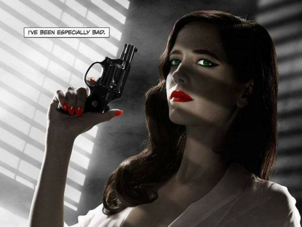 Eva Green em «Sin City: A Dame to Kill For» (Reprodução)