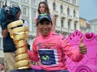 Nairo Quintana vence volta a Itália 2014 (Lusa)