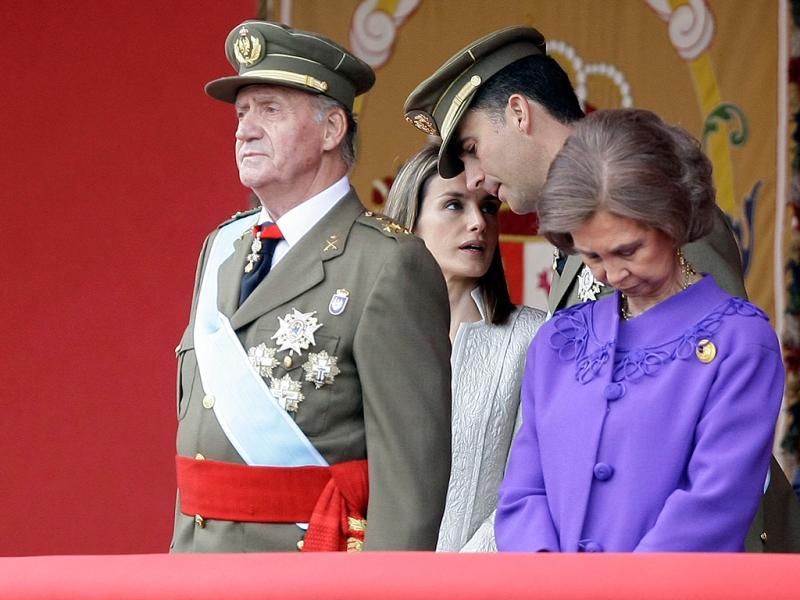 As imagens histórias do Rei de Espanha (REUTERS)