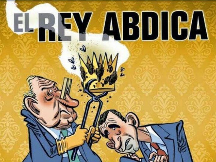 Capa da «El Jueves» retirada das bancas (DR)