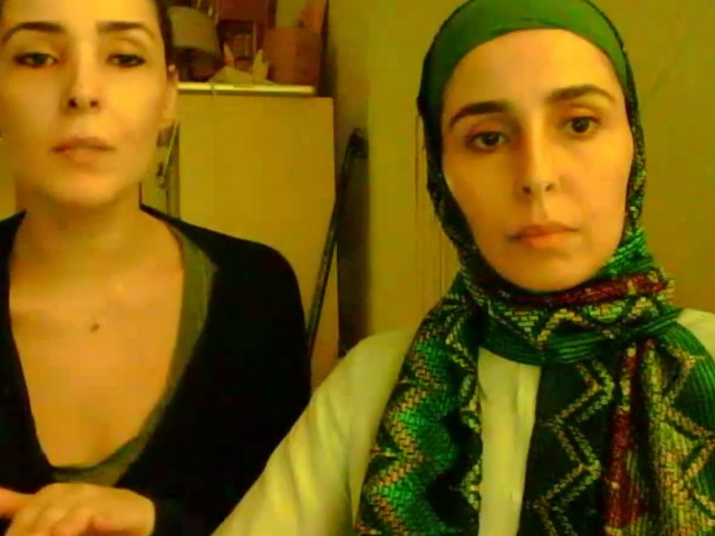 Princesas da Arábia Saudita (reprodução /Youtube/ Freetheprincesses)